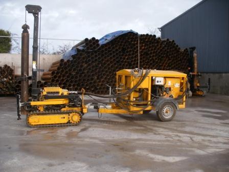 1 tonne mini piling rig