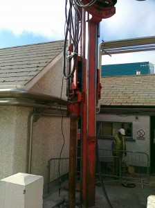 Top Driven Piling (Domestic)