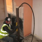 110mm low vibration air hammer piles for underpinning