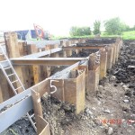 Sheet Piling in Clones for Undergound Tank