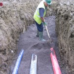 Water Mains Installation