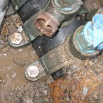 Corroded fittings