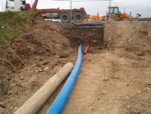 Figure 9 - Double pipe ramming