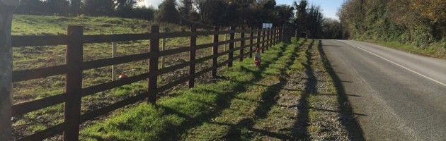 Finished Horserail Fence